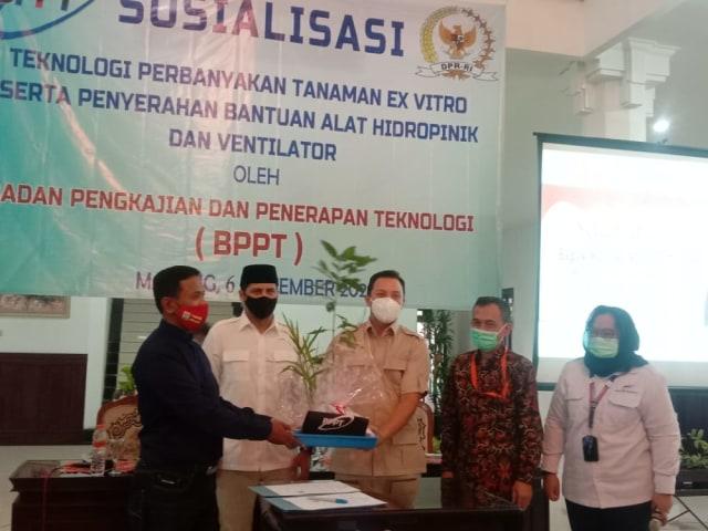 Kota Malang Dapat Bantuan Ventilator hingga Alat Hidroponik dari BPPT (116016)
