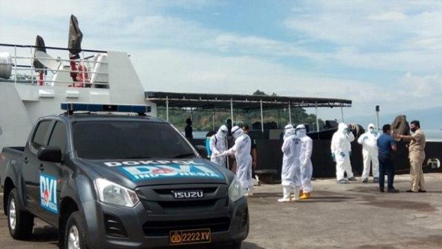 155 ABK WNI Program Repatriasi Tiba di Pelabuhan Bitung, Langsung di Karantina (243275)
