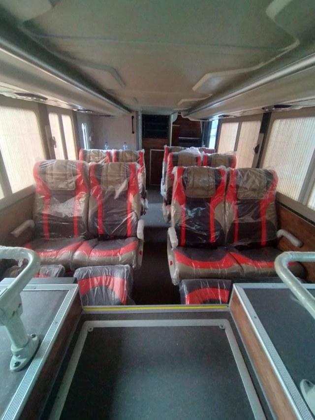 Duo Bus Tingkat Mercedes-Benz Andalan PO Garuda Mas, Punya Fasilitas Bintang 5 (219725)