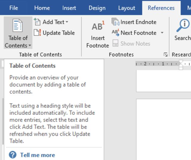 Cara Membuat Daftar Isi Makalah Otomatis di Microsoft Word 2019 (27011)