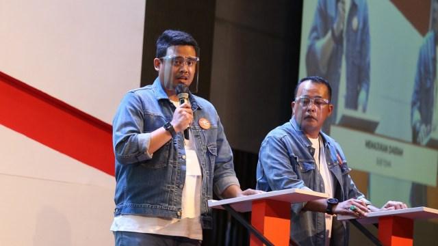 Bobby Usai Debat Kedua: Mari Berkolaborasi Tentukan Nasib Kota Medan (110428)