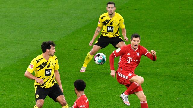 Bayer Munich Vs Borussia Dortmund