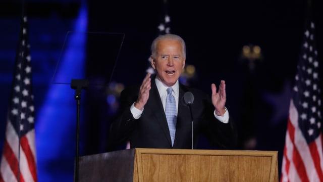Rangkaian Joe Biden Menuju Gedung Putih: Misa Pagi hingga Pidato Duka COVID-19 (173414)