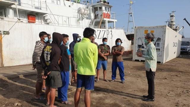 13 ABK WNI Kapal China yang Telantar di Senegal Pulang ke Indonesia (322276)