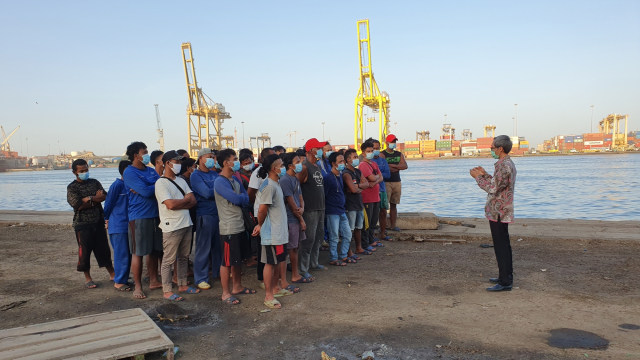 13 ABK WNI Kapal China yang Telantar di Senegal Pulang ke Indonesia (322277)