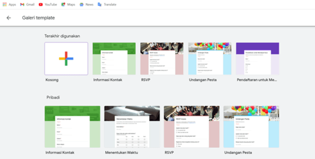 Cara Membuat Formulir Google untuk Kehadiran Siswa (1)