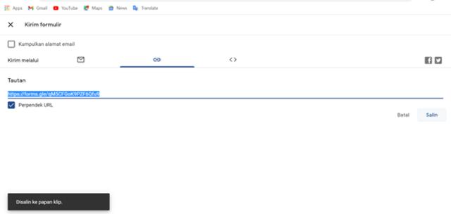 Cara Membuat Formulir Google untuk Kehadiran Siswa (8)