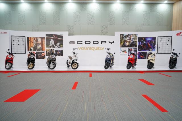Foto: Lebih Dekat dengan All New Honda Scoopy, Apa Saja yang Berubah? (48505)