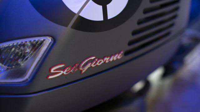 Vespa GTV Sei Giornio II Edition Dijual Rp 155 Juta, Siap Jadi Incaran Kolektor (119785)