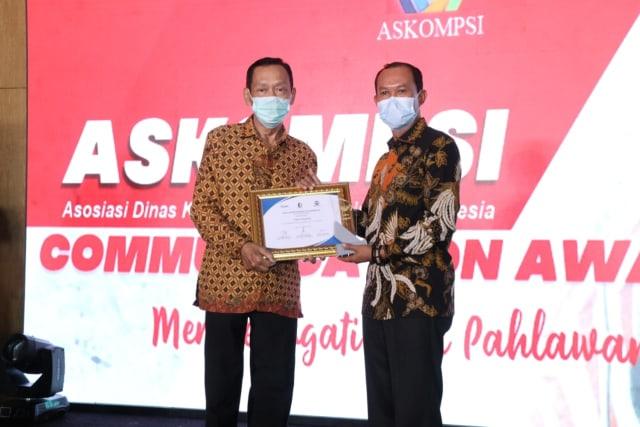 Palembang Raih Penghargaan Communication Award (491076)