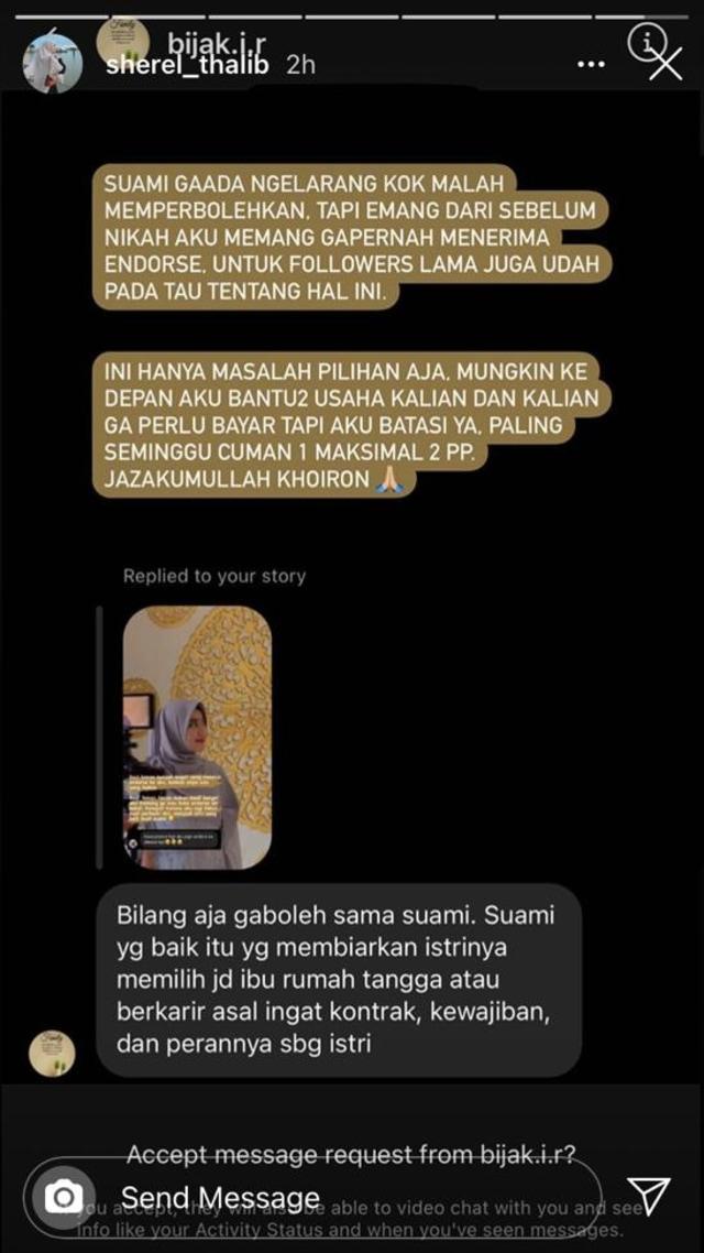 Taqy Malik Dituduh Larang Istri Terima Tawaran Endorse, Ini Reaksi Sherel Thalib (244024)