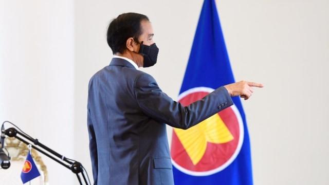 Jokowi saat Pertemuan dengan Otak Kudeta Myanmar: Hentikan Kekerasan (759978)