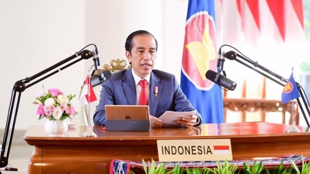 Jokowi Akui 2020 Tahun yang Sangat Berat (114742)