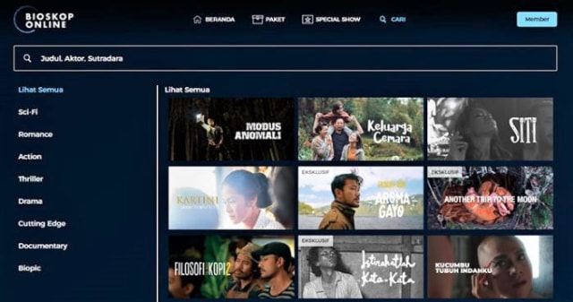 Juraganfilm Ilegal, Ini Platform Streaming film Legal (99919)