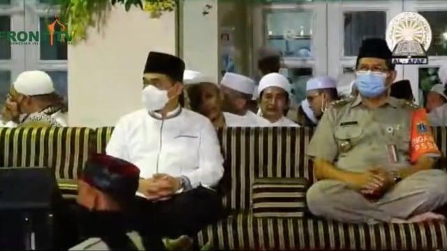 Wagub DKI Imbau Warga di Kerumunan Habib Rizieq Bergejala Corona Lapor Puskesmas (119209)