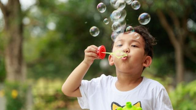 Manfaat Bermain Gelembung Sabun Bagi Perkembangan Anak (446778)