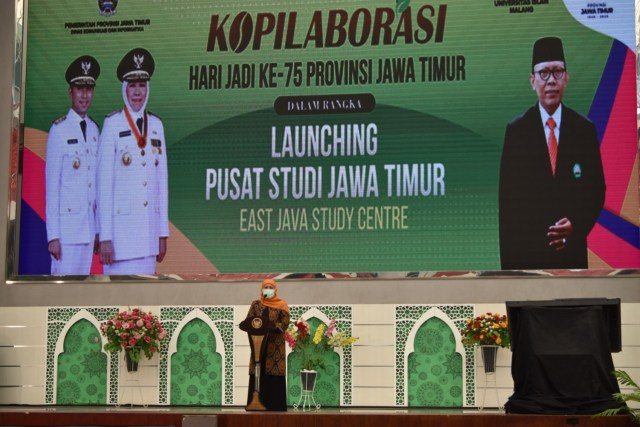Khofifah Resmikan Pusat Studi Jawa Timur di Universitas Islam Malang (279846)