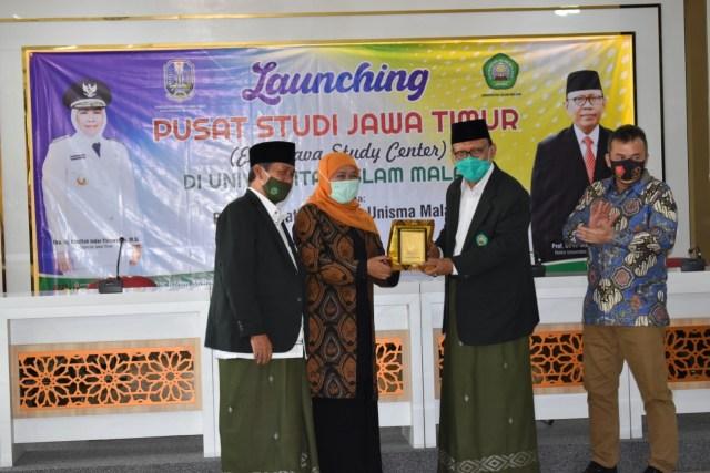 Khofifah Resmikan Pusat Studi Jawa Timur di Universitas Islam Malang (279848)