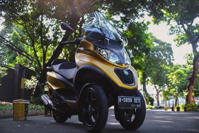 Foto: Lebih Dekat dengan Piaggio MP3 500 HPE, Skutik Canggih Beroda 3 (85218)