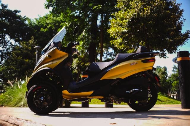 Foto: Lebih Dekat dengan Piaggio MP3 500 HPE, Skutik Canggih Beroda 3 (85193)