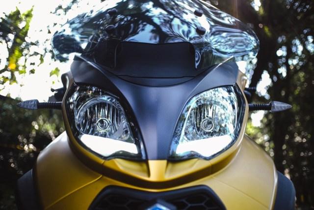 Foto: Lebih Dekat dengan Piaggio MP3 500 HPE, Skutik Canggih Beroda 3 (85197)