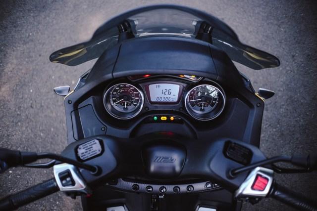 Foto: Lebih Dekat dengan Piaggio MP3 500 HPE, Skutik Canggih Beroda 3 (85203)