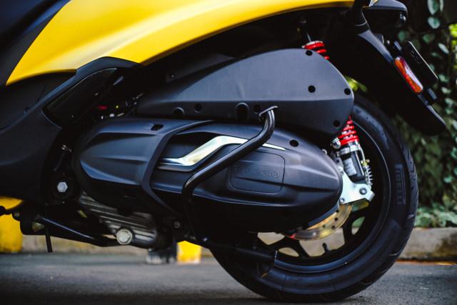 Foto: Lebih Dekat dengan Piaggio MP3 500 HPE, Skutik Canggih Beroda 3 (85208)