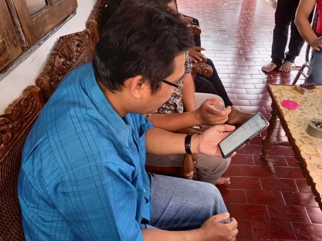 WhatsApp Humas Tim Bajo Dibajak, Minta Transferan Sejumlah Uang (55501)