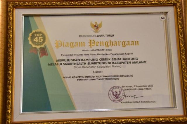 Pemkab Malang Masuk 45 Besar Kompetisi Inovasi Pelayanan Publik (52142)
