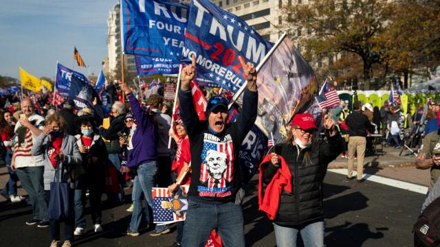 Konsekuensi Kerusuhan bagi Trump (245082)