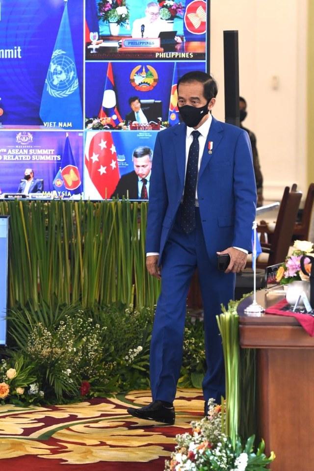 3 Pesan Utama Presiden Jokowi dalam Rangkaian KTT (75834)