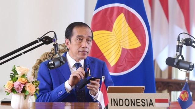 Presiden Jokowi Hadiri KTT ASEAN-PBB dan KTT RCEP Secara Virtual (152767)
