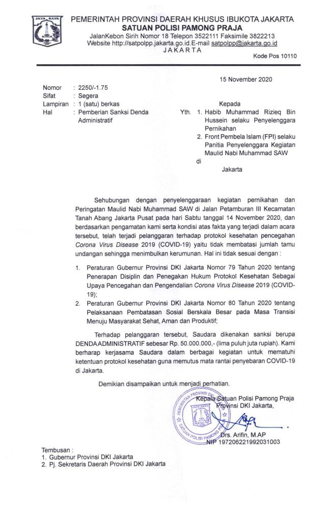 FPI Tanggapi Mahfud: Acara Jokowi di Banyuwangi, Gibran di Solo, Tak Jaga Jarak (49800)
