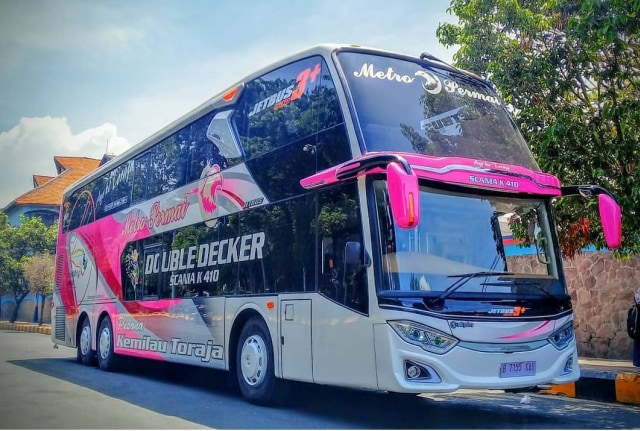 Deretan PO Bus Double Decker di Pulau Sulawesi, Mana Favoritmu? (165300)
