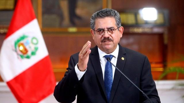 Baru Berkuasa 6 Hari, Presiden Peru Manuel Merino Mengundurkan Diri (53694)