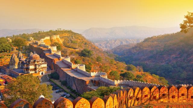 Kumbhalgarh, 'Tembok Besar China' di India yang Usianya Lebih dari 500 Tahun (45194)