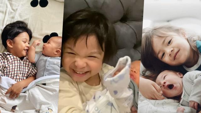 Kawa, Natusha dan Bjorka: 3 Anak Seleb yang Baru Jadi Kakak! Siapa Juara Gemas? (46228)