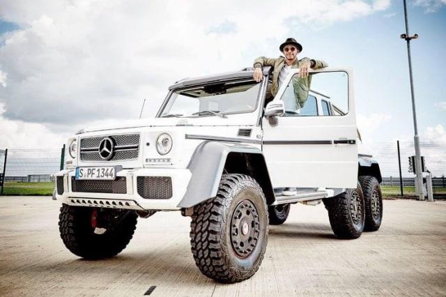 Intip Koleksi Mobil Lewis Hamilton Juara Dunia Formula 1 Tujuh Kali (656369)
