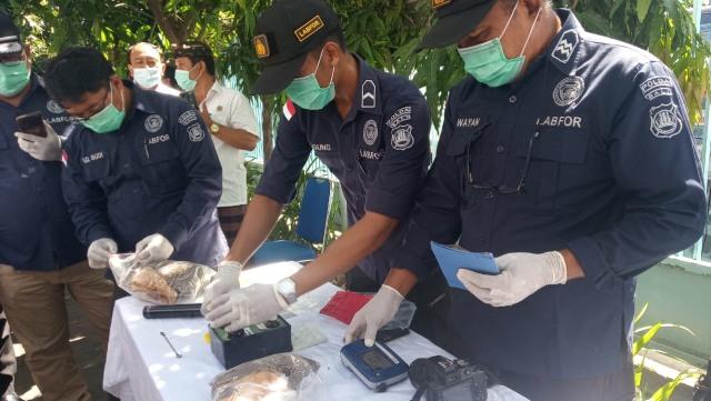 Sabu Kiriman dari Malaysia Dimusnahkan BNN Bali (82890)