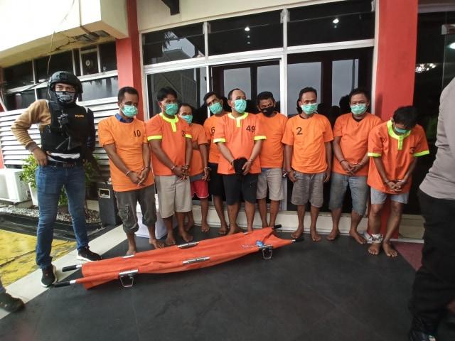 Bandar Narkoba Dumai dan Medan Tembak-tembakan Memperebutkan 46 Kg Sabu (286325)