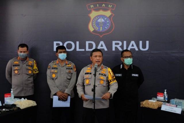 Bandar Narkoba Dumai dan Medan Tembak-tembakan Memperebutkan 46 Kg Sabu (286328)