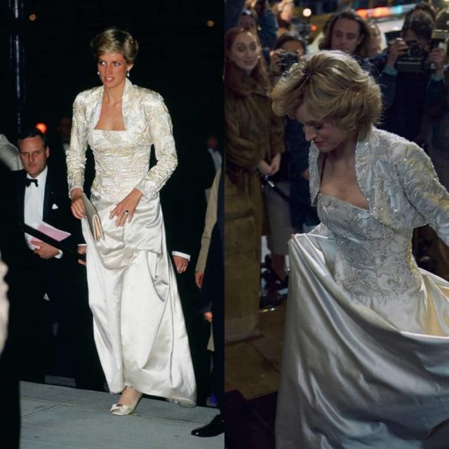 Mirip Banget! Ini 9 Gaya Emma Corrin Pakai Replika Baju Putri Diana di The Crown (14365)