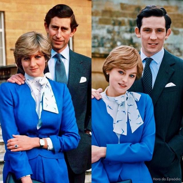 Mirip Banget! Ini 9 Gaya Emma Corrin Pakai Replika Baju Putri Diana di The Crown (14360)