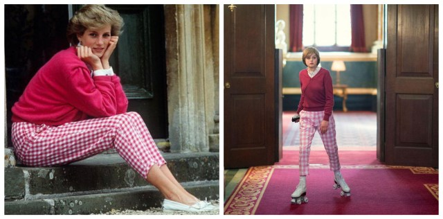 Mirip Banget! Ini 9 Gaya Emma Corrin Pakai Replika Baju Putri Diana di The Crown (14364)