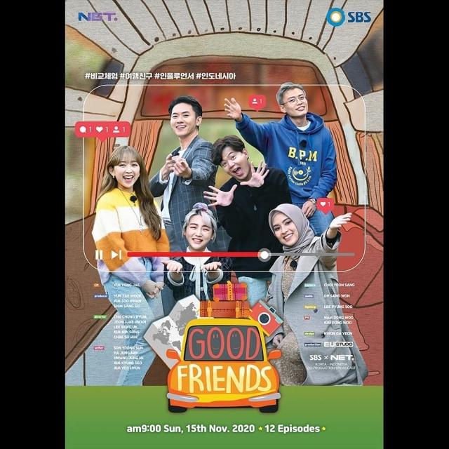 Dita Karang sampai Jang Hansol 'Korea Reomit' Bintangi Good Friends Indonesia (589511)