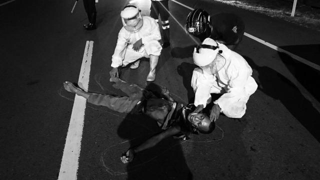 Pria Tanpa Identitas Ditemukan Tewas dengan Kondisi Penuh Luka di Tol Makassar (36773)