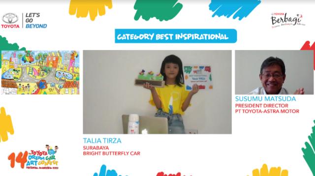 Saat Toyota Garap Mobil Masa Depan dari Gambar Anak-anak  (122604)