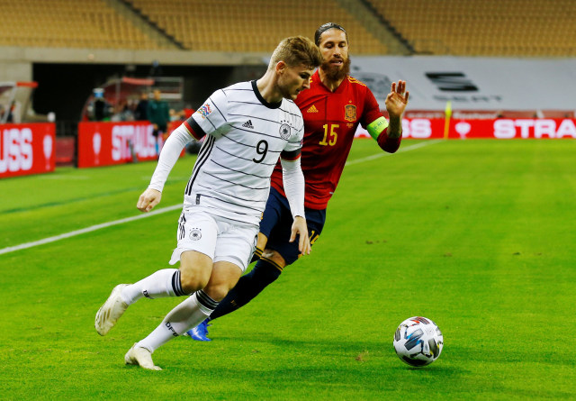 Spanyol vs Jerman: Tuan Rumah Pesta Gol, Libas Tamu 6-0 (10311)