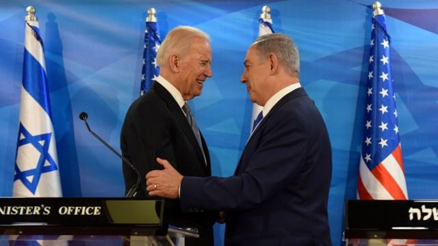 Netanyahu Bertemu Biden, Bahas Kelanjutan Kerja Sama Israel-AS (113392)