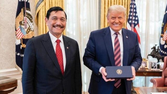 Luhut Temui Donald Trump di Gedung Putih (149158)
